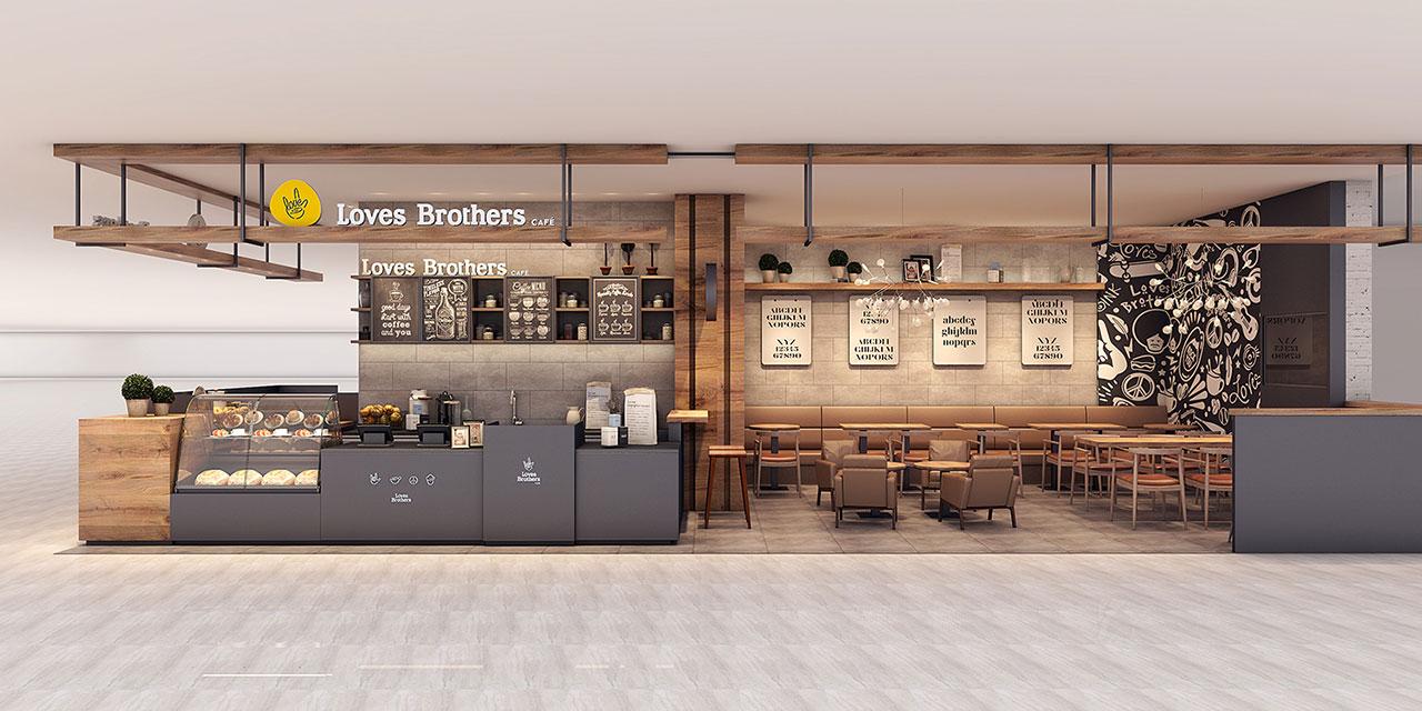 杭州饮品咖啡店设计-loves brothers_杭州象内创意