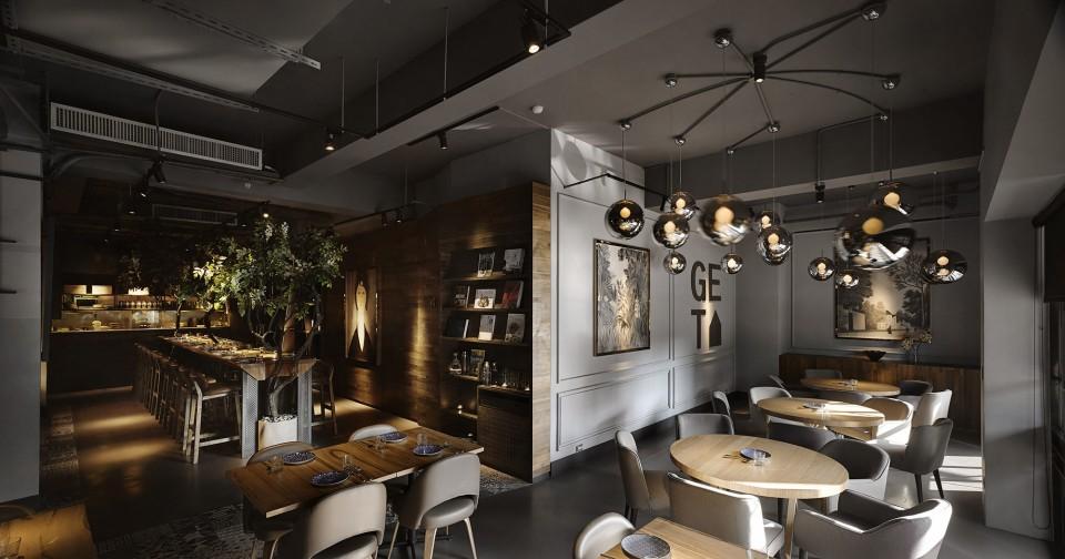 欧式餐厅设计
