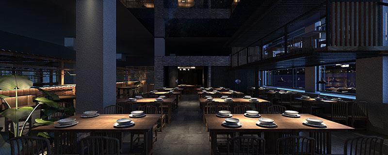 三晋老田餐厅设计,打造最具有禅意餐厅_杭州象内创意