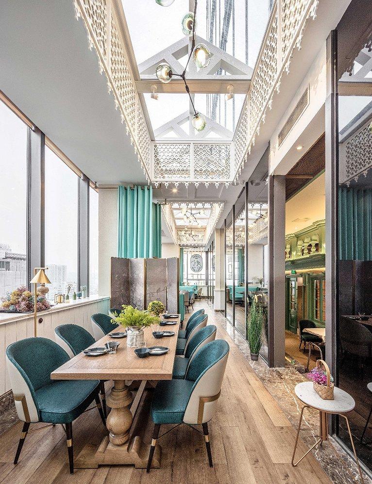 充满童话气息的优雅都市餐厅设计_杭州象内创意设计